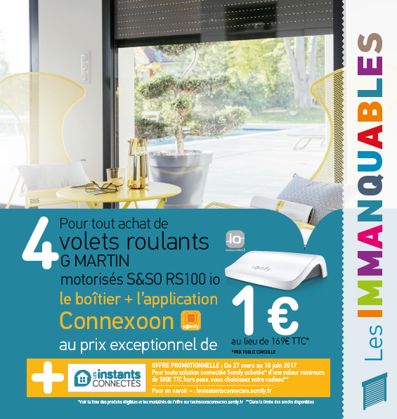 promo somfy RS100