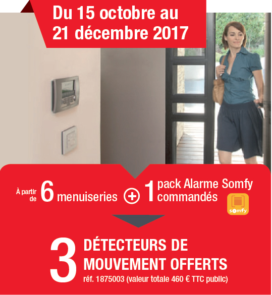 Promotion Alarme Somfy