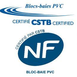 Logo bloc-baie PVC certifié NF G.MARTIN