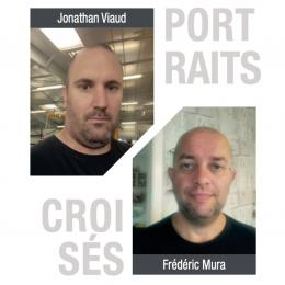 Jonathan Viaud et Frédéric Mura ont intégré l'entreprise respectivement aux postes de monteur de menuiserie à frappe et contrôle et vitrages le 1er septembre dernier