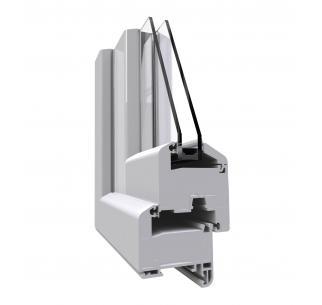 Angle de fenêtre gamme PVC Optima 70