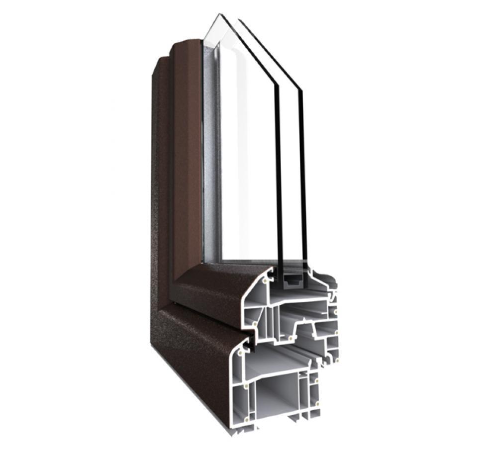 Portes et fen tre pvc couleur 80 mm 6 chambres g martin - Ambiance et style vitre ...