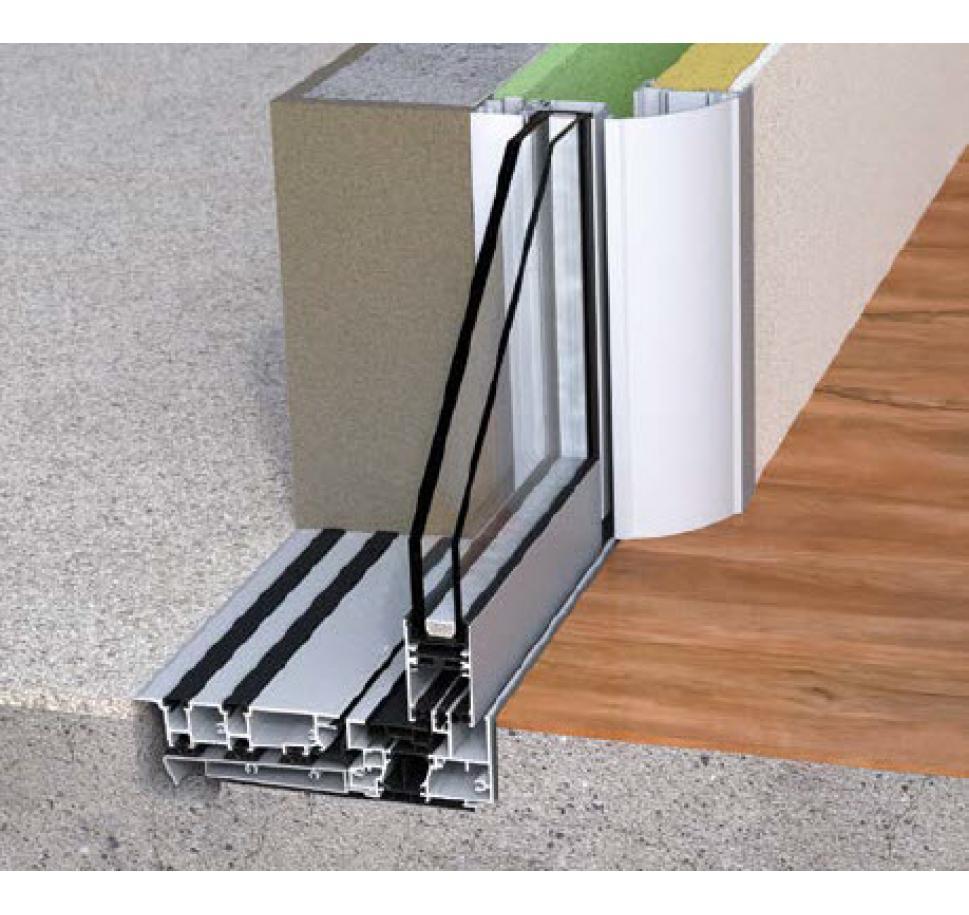 baie galandage 1 vantail finest baie galandage vers patio. Black Bedroom Furniture Sets. Home Design Ideas