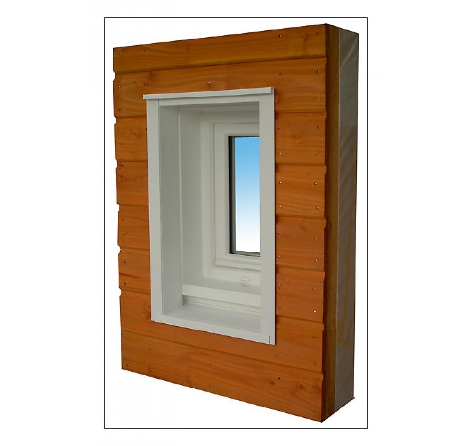 Fabricant de précadre PVC pour maison à ossature bois